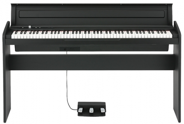 KORG Digitalpiano, LP180, 10 Sounds, 2x11 Watt, schwarz