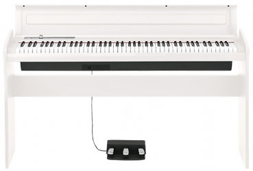 KORG Digitalpiano, LP180, 10 Sounds, 2x11 Watt, weiß