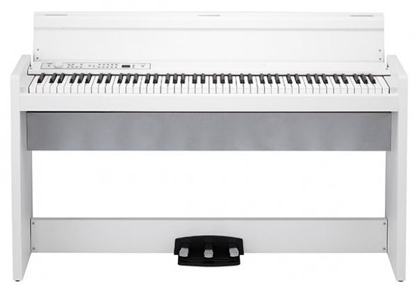 KORG Digitalpiano, LP380, 30 Sounds, 2x22 Watt, weiß